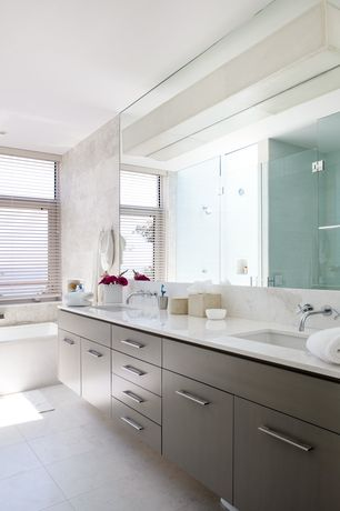 Contemporary Master Bathroom With Double Sink European Cabinets Zillow Digs Zillow