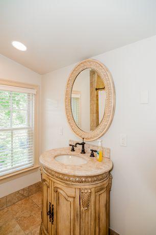 Bathroom Tiles Floor To Ceiling powder room limestone tile floors | zillow digs | zillow