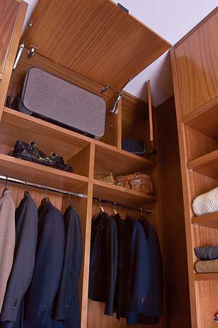Contemporary Closet With California Closets Walk In Closet Custom  Cabinetry, High Ceiling