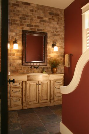 country red bathroom design ideas & pictures | zillow digs | zillow