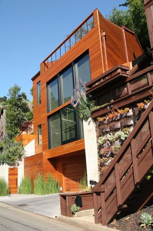 Modern Orange Exterior Of Home Design Ideas & Pictures | Zillow