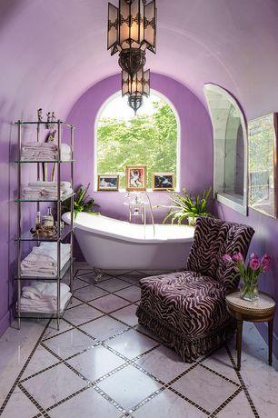 Mediterranean Purple Bathroom Design Ideas Pictures Zillow