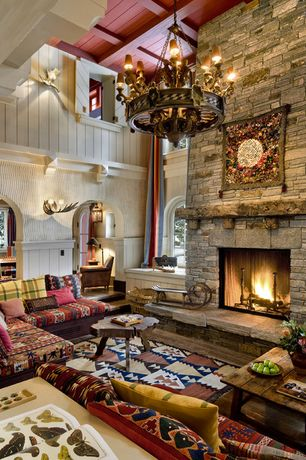 living room stone fireplace cathedral ceiling zillow Living Room Layouts with Fireplace Unique Fireplace Wall Ideas