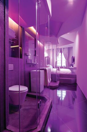 Contemporary purple design ideas pictures zillow digs for Light purple bathroom accessories