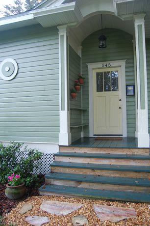 Eclectic Cottage Exterior