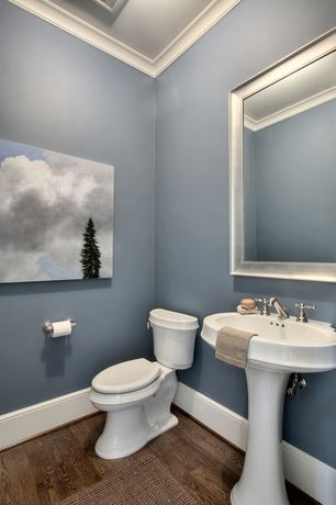 Powder room pedestal sink design ideas pictures zillow - Powder room sink ideas ...