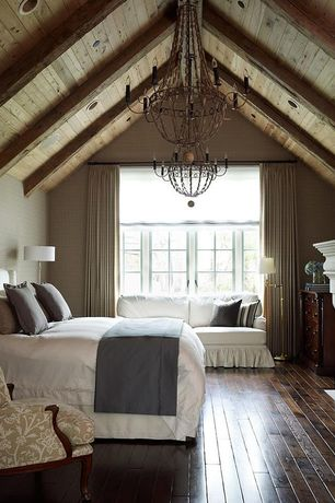 3 Tags Traditional Guest Bedroom With Exposed Beam Strongside Wood Siding Eastern White Cedar Siding Tongue