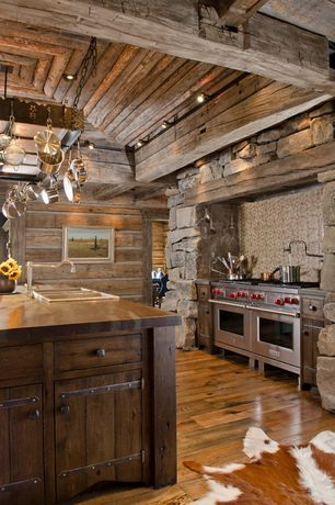 Rustic Kitchen With European Cabinets By Derek Wagner