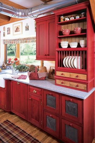Country Red Kitchen Design Ideas & Zillow Digs