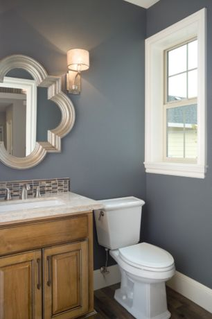 Traditional powder room with powder room by shannon ponciano zillow digs - Peinture de toilette ...
