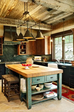 Luxury rustic kitchen design ideas pictures zillow for Kitchen design zillow