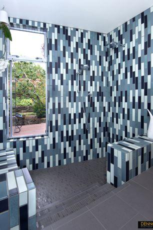 modern blue master bathroom design ideas & pictures