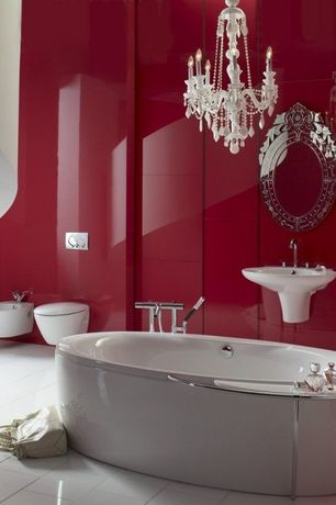 luxury red bathroom design ideas & pictures | zillow digs | zillow
