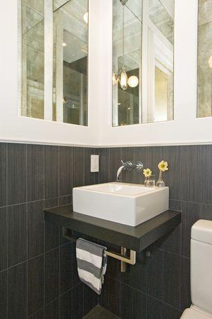 Modern White Powder Room Design Ideas Amp Pictures Zillow