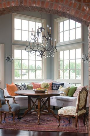 5 Tags Traditional Dining Room With Chandelier Standard Furniture Crossroad Round Pedestal Table High Ceiling