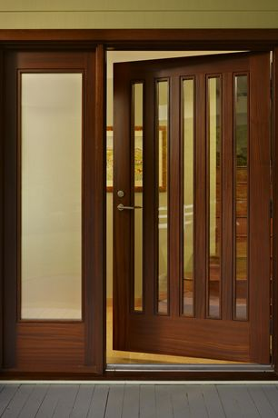 Contemporary Front Door With Glass Panel Door By FINNE Architects | Zillow  Digs | Zillow