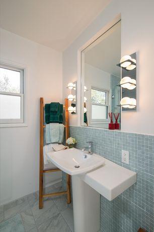 Transitional Bathroom Pedestal Sink Zillow Digs Zillow