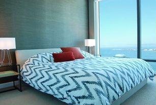 Modern Blue Master Bedroom modern blue master bedroom design ideas & pictures | zillow digs