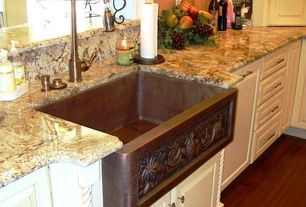 High Quality Traditional Kitchen With Betularie Granite Countertop, MS International,  Raised Panel, Farmhouse Sink,