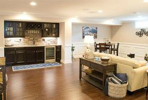 7 Tags Basement With Wainscoting, Urban Trends Metal Wire Basket Lined With  Fabric With Metal Handles Set