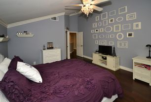 burgundy bedroom ideas. 2 tags Traditional Master Bedroom with Carpet  Ceiling fan Crown molding Pendant Light Hardwood Sherwin Williams Burgundy Molding Zillow Digs