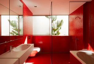 eclectic red bathroom design ideas & pictures | zillow digs | zillow