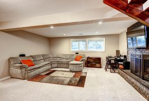 1 tag contemporary family room with high ceiling