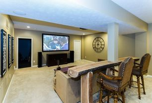 Rustic Home Theater Design Ideas & Pictures | Zillow Digs | Zillow