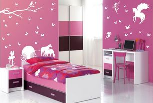 Contemporary Pink Kids Bedroom Design Ideas Pictures Zillow
