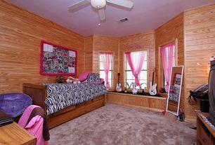 Rustic Kids Bedroom Window Seat Design Ideas & Pictures   Zillow ...