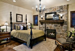 Country Black Master Bedroom Design Ideas & Pictures | Zillow Digs ...