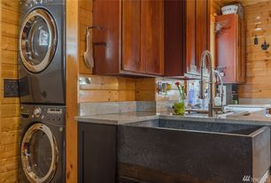 MidRange Rustic Laundry Room Design Ideas Pictures Zillow