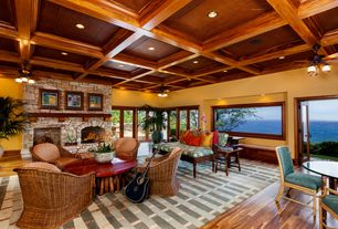 1 tag Tropical Living Room with Hardwood floors  flush light  Ceiling fan   stone fireplace Tropical Living Room Design Ideas   Pictures   Zillow Digs   Zillow. Tropical Living Room Design. Home Design Ideas