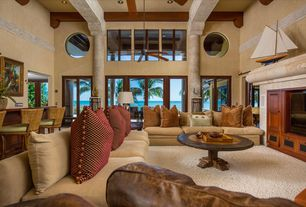 1 Tag Tropical Living Room