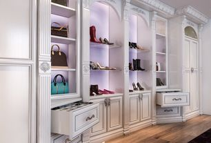 4 Tags Transitional Closet With Carpet, High Ceiling, Built In Bookshelf,  Custom Closet By