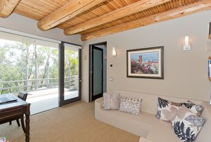 home office french doors. 1 tag contemporary home office with wall sconce exposed beam french doors carpet 2