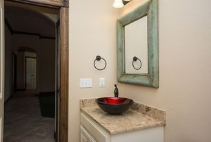 Powder Room Design Ideas 5 tags contemporary powder room with find ash rectified color body porcelain zone frameless mirror 4 Tags Traditional Powder Room With Raised Panel Powder Room Complex Granite Vessel Sink
