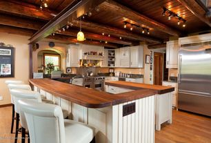 4 Tags Traditional Kitchen With Custom Hood Kitchen Island Raised Panel Complex Granite Counters
