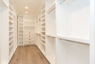 Traditional Closet With High Ceiling, Built In Bookshelf, California Closets  Walk In