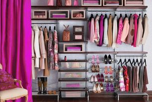 pink closet interior wallpaper design ideas & pictures | zillow