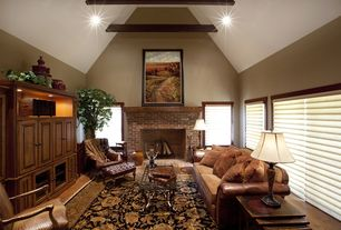 Living Room Cathedral Ceiling Design Ideas Pictures