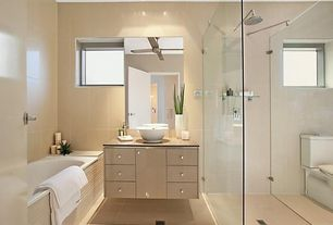 5 tags modern full bathroom with kraus kcv 141 white ceramic 15 710 - Bathroom Design Ideas Pictures