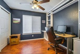 SherwinWilliams Cyberspace Home Office Ceiling Fan Zillow Digs