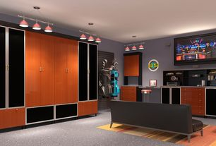 Game Room Design Ideas 13 combining work and play 1 Tag Modern Game Room With Carpet Simple Granite Floors High Ceiling Pendant Light