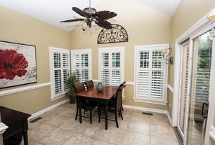 brown dining room ceiling fan design ideas  pictures  zillow, Lighting ideas
