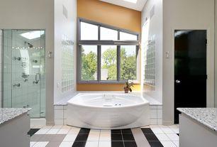 Blue Bathroom Steam Shower Design Ideas & Pictures | Zillow Digs ...