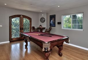 1 tag mediterranean game room with hardwood floors high ceiling