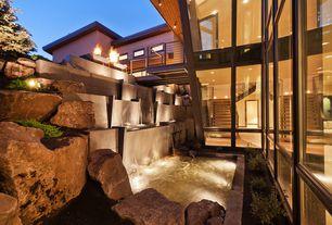 Brown Landscape Yard Design Ideas &