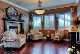 1 Tag Traditional Living Room With Hardwood Floors Metal Fireplace High Ceiling Crown Molding