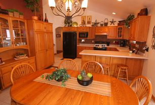 traditional orange kitchen design ideas & pictures | zillow digs